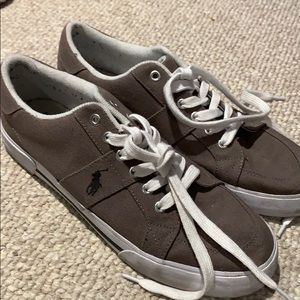 Next-to-new polo shoes